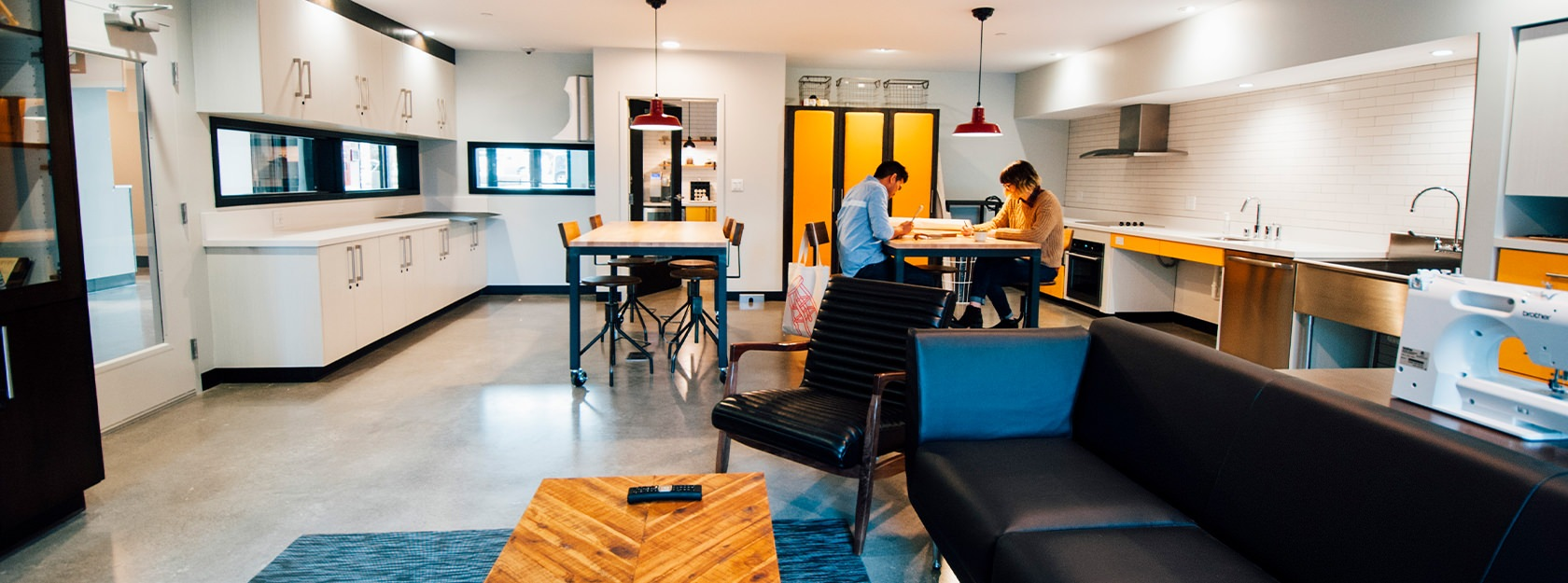 Smith & Burns co-working space