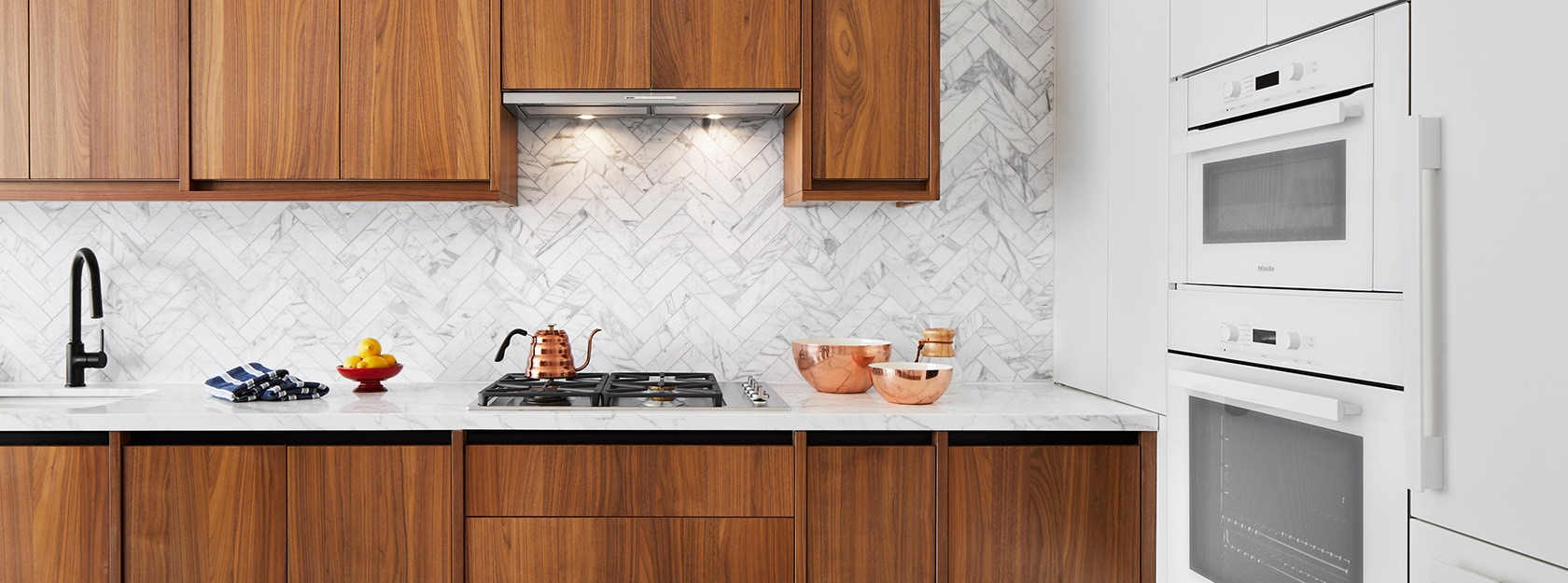The Greenpoint kitchen with ample cabinet space