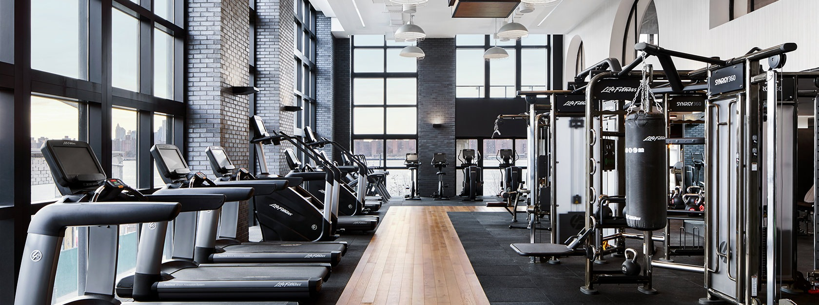 The Greenpoint fitness center